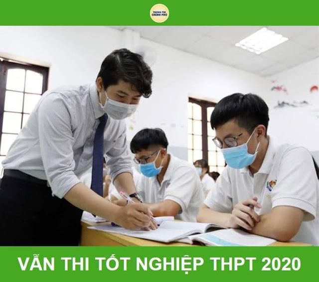 VẪN TIẾP TỤC KỲ THI TỐT NGHIỆP THPT NĂM 2020 DIỄN RA THEO KẾ HOẠCH, KỂ CẢ Ở ĐÀ NẴNG!