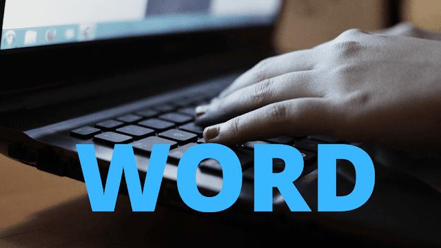 para buscar en word solo debes oprimir las teclas control + B