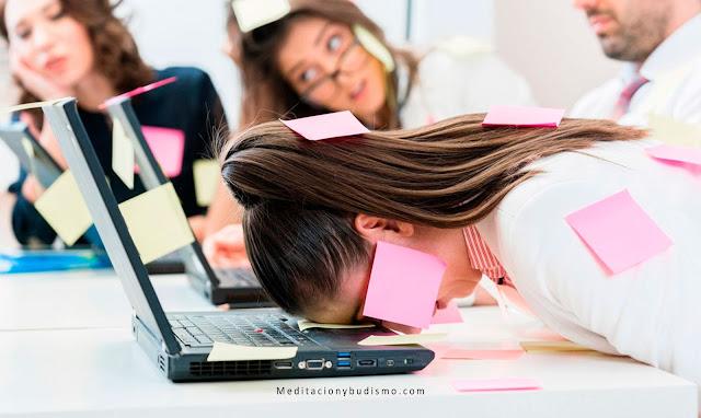 Las señales de que te estas enfermando por estrés