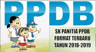 Download Contoh SK Panitia PPDB 2018/2019 SD, SMP,SMA dan SMK Format Terbaru