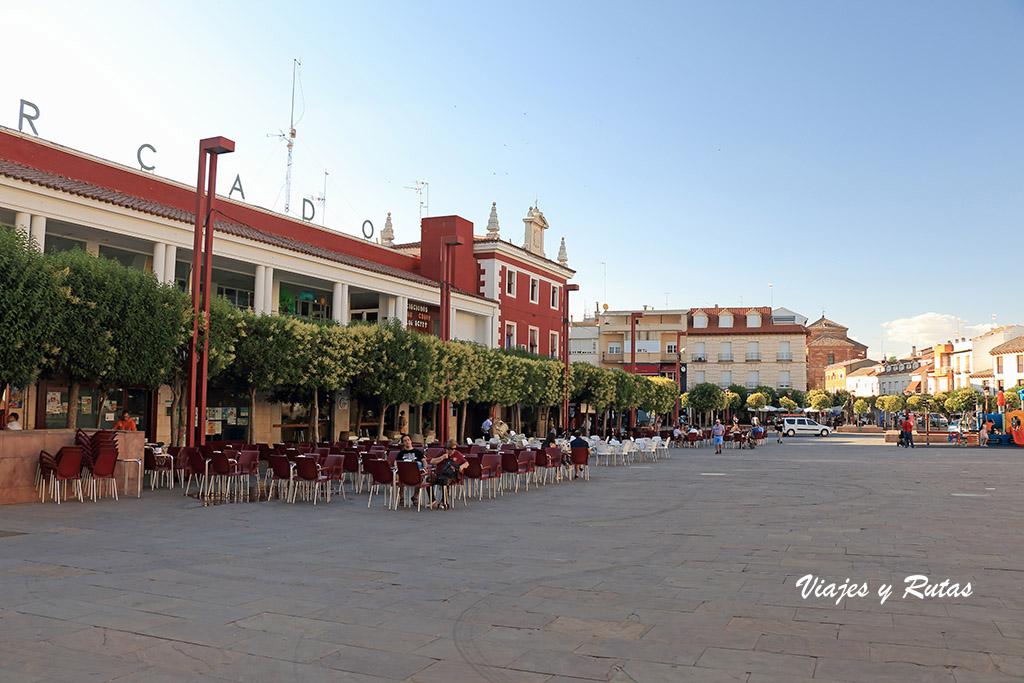 Plaza de España de Alcázar de San Juan