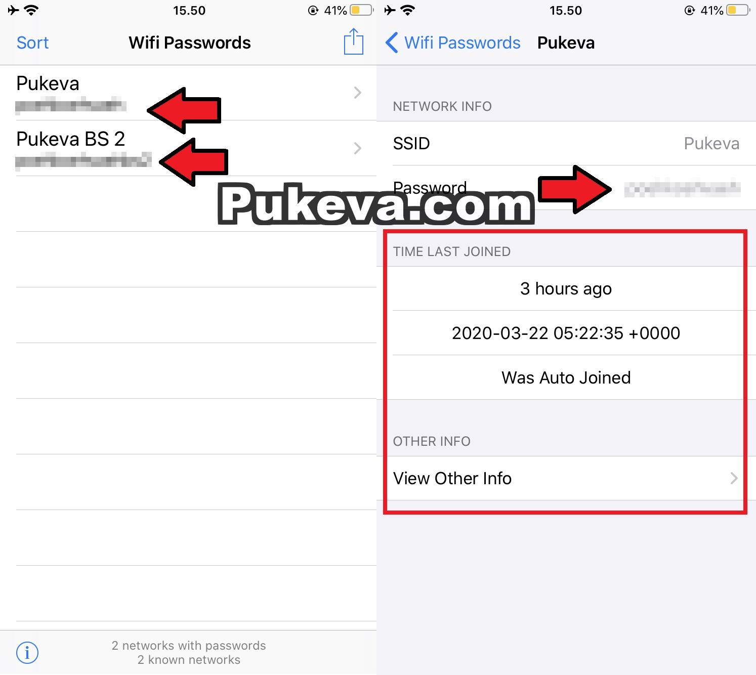 Cara Melihat Password WIFI di iPhone Menggunakan Wifi Passwords