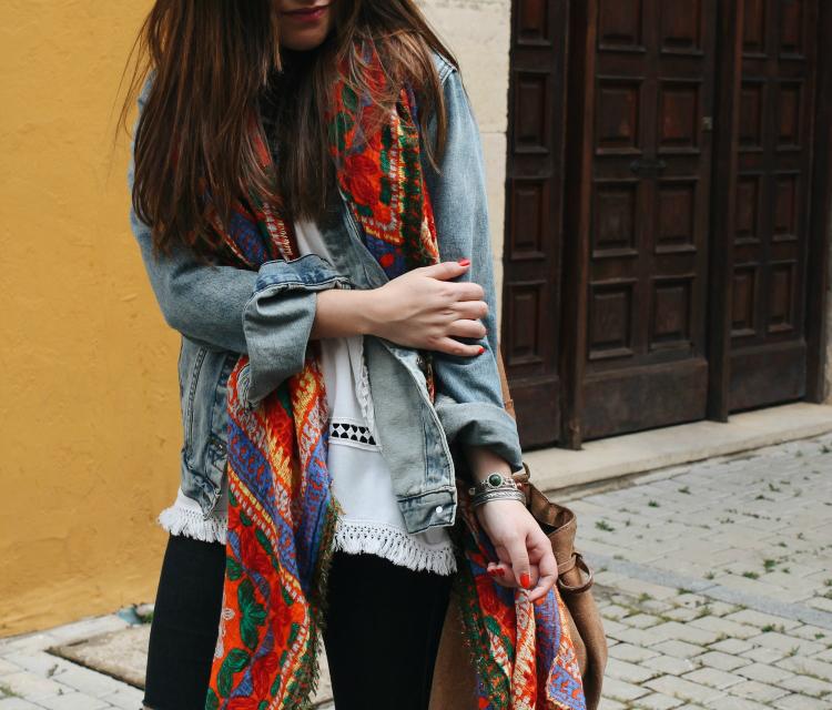 pañuelo de zara blog de moda