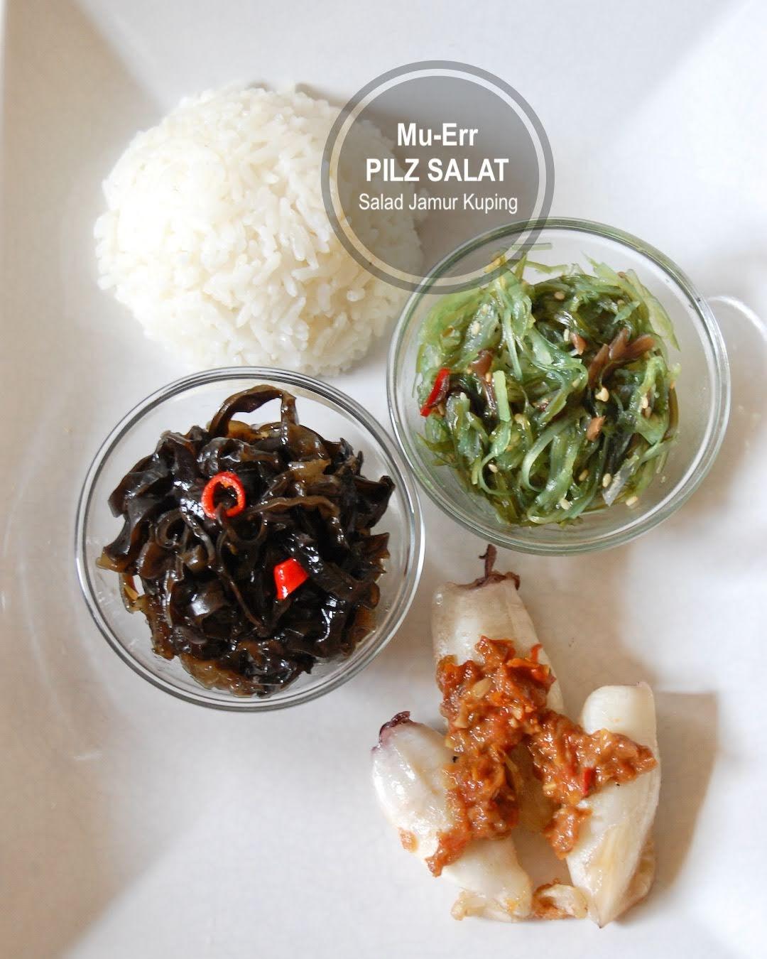 Rezept Mu Err Schwarze Pilze Salat nach Asiatischer Art