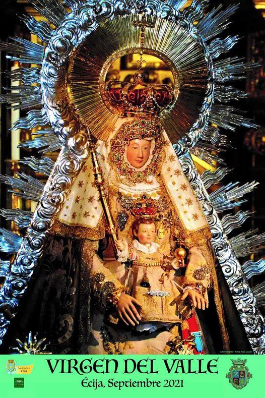 Cartel Oficial de la Virgen del Valle 2021 de Écija