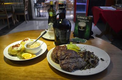O Irlandês Steakhouse & Pub.