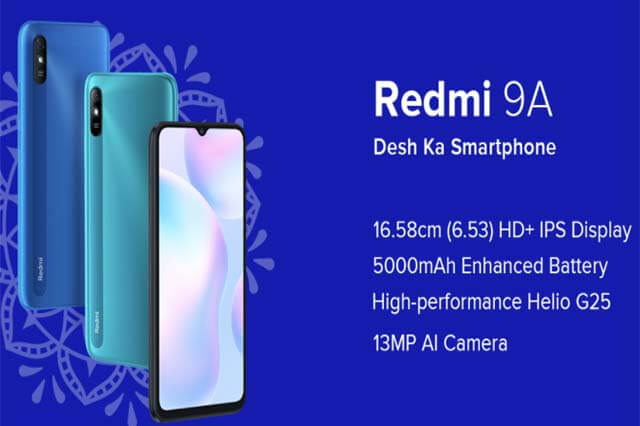 redmi 9A phone
