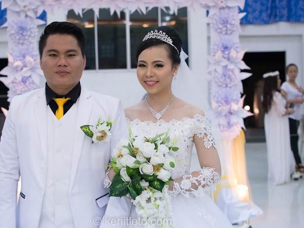 Dominnoe & Salviah Wedding photos |10 June 2016