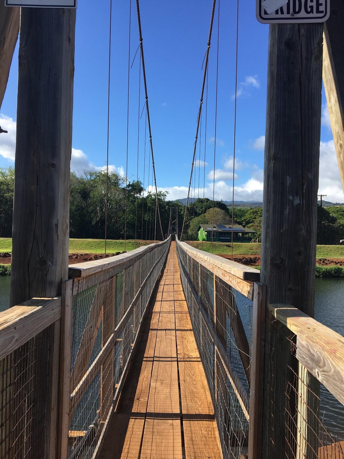 Aloha From Hawaii The Historic Hanapepe Swinging Bridge