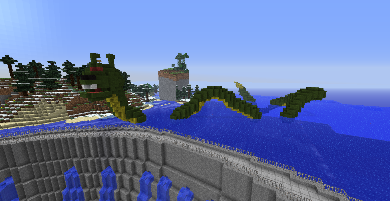 Chargaming all about minecraft D Loch ness Monster