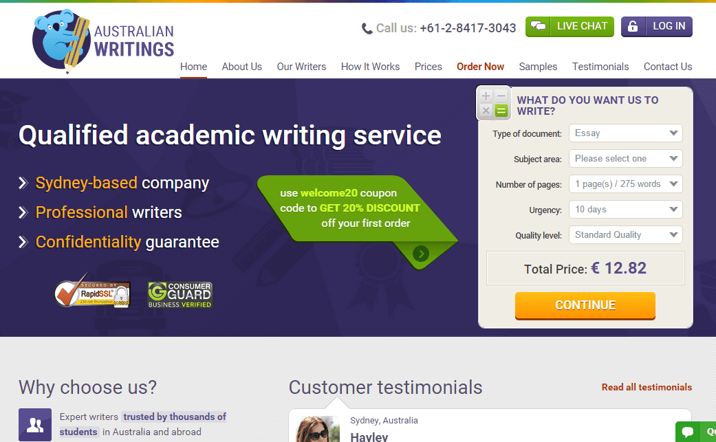 custom personal essay proofreading websites au