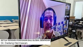 Dadang Hermawan Masa Pengenalan Lingkungan Sekolah SMK TI Bali Global Badung 2021 2022