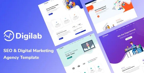 Best SEO & Digital Marketing Agency Template