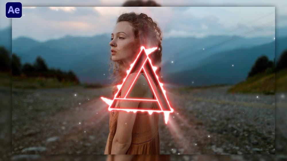Crear ESPECTRO de AUDIO Triangular al Ritmo de la Música After Effects