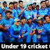 India National under 19 cricket team roster.