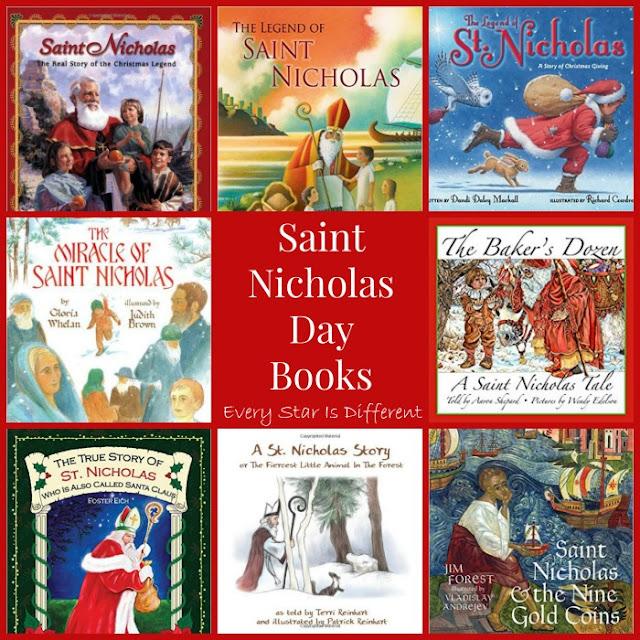 Saint Nicholas Day Books