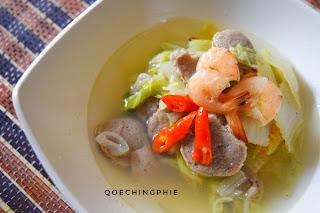 Resep Membuat Sup Sawi Bakso Udang Mudah dan Praktis