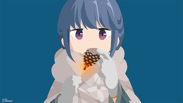 Shima Rin - Yuru Camp Wallpaper