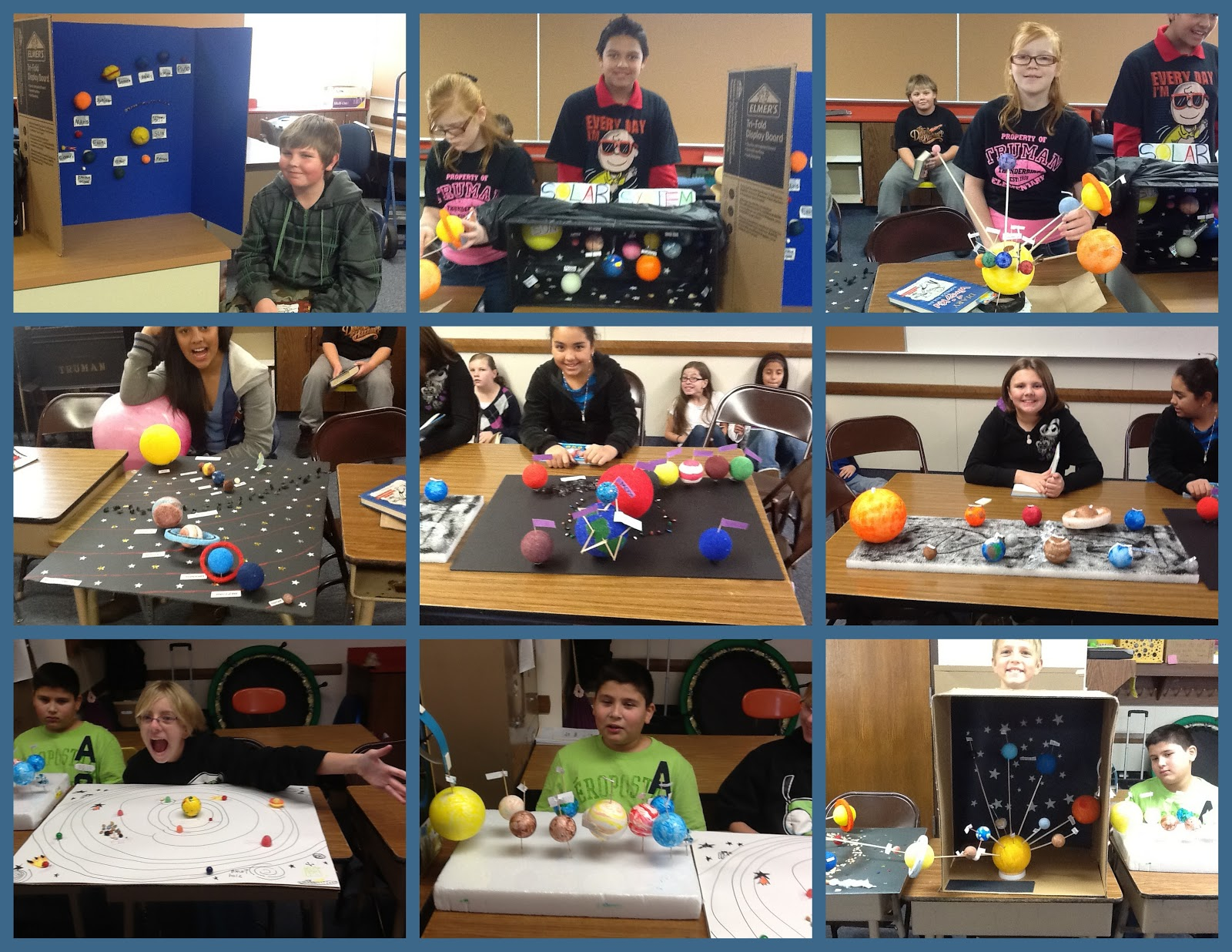 Hedquist S Happenings 6th Grade S Solar System Projects