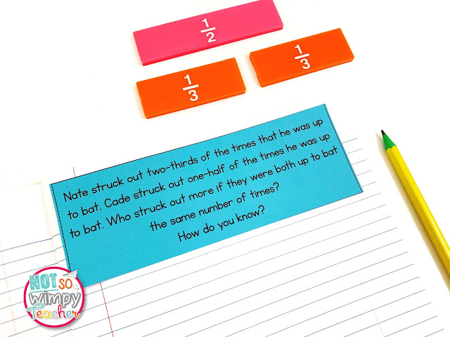 Word problems for your math journals