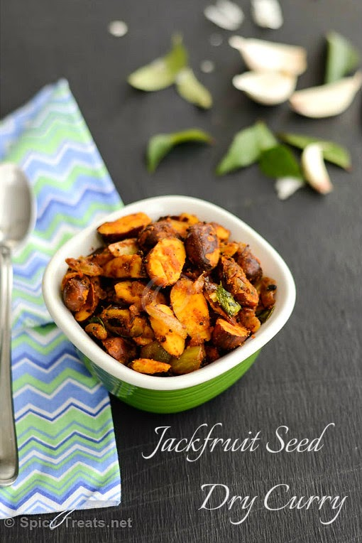Jackfruit Seed Dry Curry