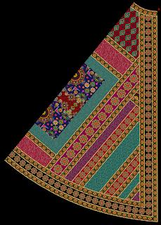 Ghaghra Choli Design Back1 2488