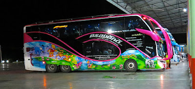 Bus Travel in Thailand