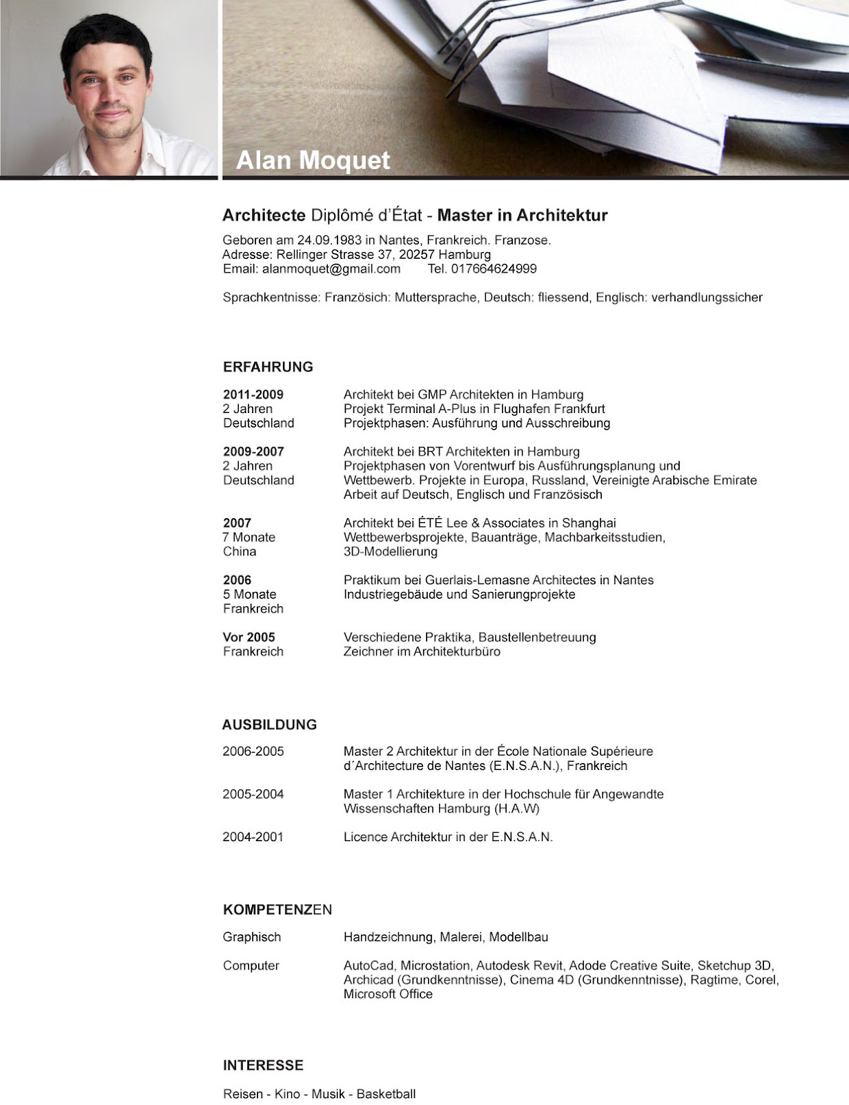 resume resume auf deutsch regularguyrant best resume site for