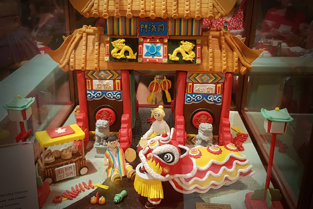 Gingerbread Gates of Chinatown...