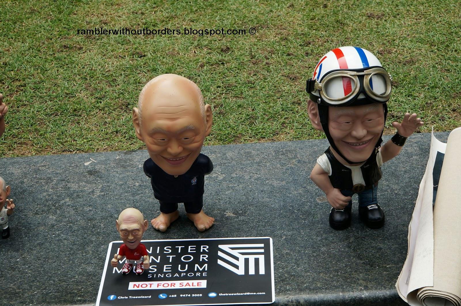 Lee Kwan Ywe figurines, Singapore