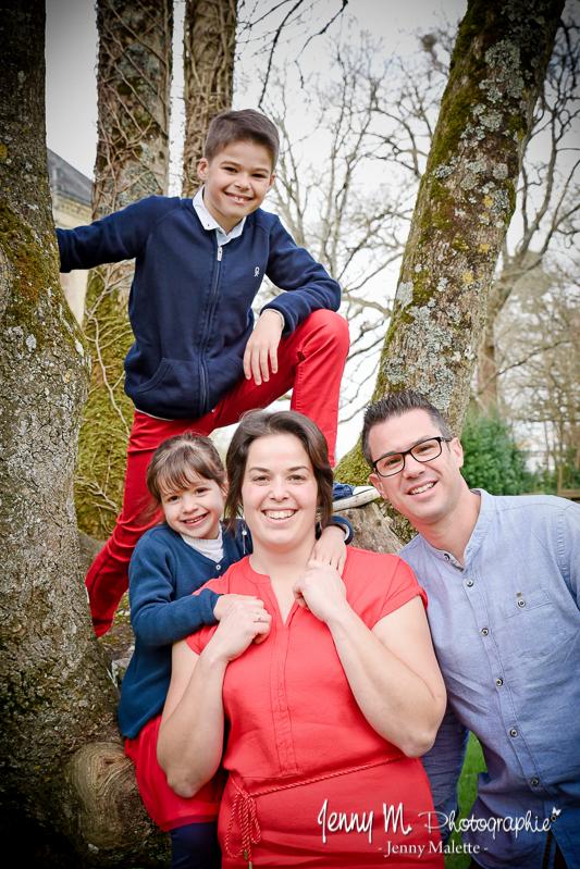 shooting avec les enfants au parc des oudairies la roche sur yon photo