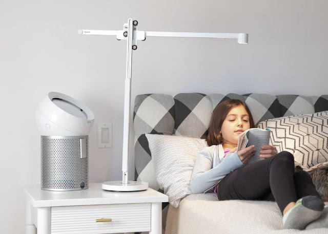 New Dyson Lightcycle desk and floor lamp