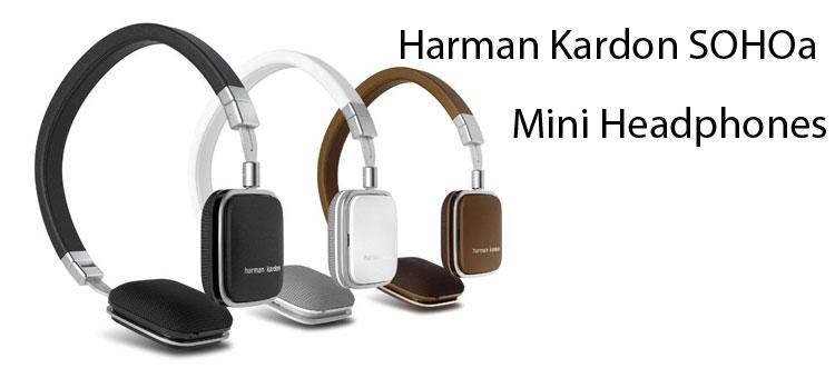 90bids harman kardon sohoa mini headphones. Black Bedroom Furniture Sets. Home Design Ideas