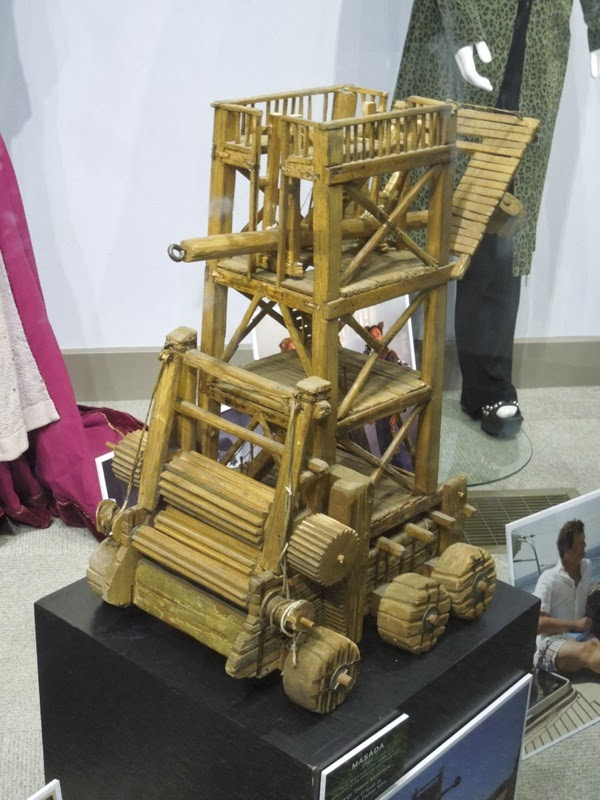 Masada Siege Tower miniature