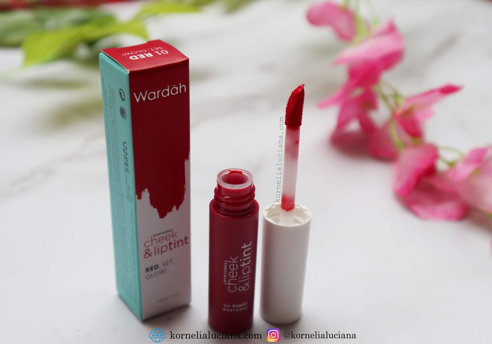 Makeup Review Wardah Everyday Cheek Lip Tint Kornelia Luciana Liptint New Aku Suka Dengan Aplikator Ini Apalagi Hasilnya Di Bibir Yang Terlihat Natural