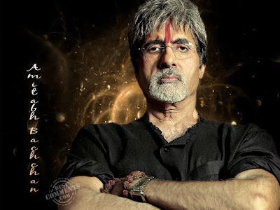 Indian Actor Amitabh Bachchan HD Wallpaper