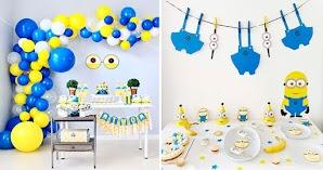 💡 Los Minions: Ideas para Decorar Fiesta de Cumpleaños