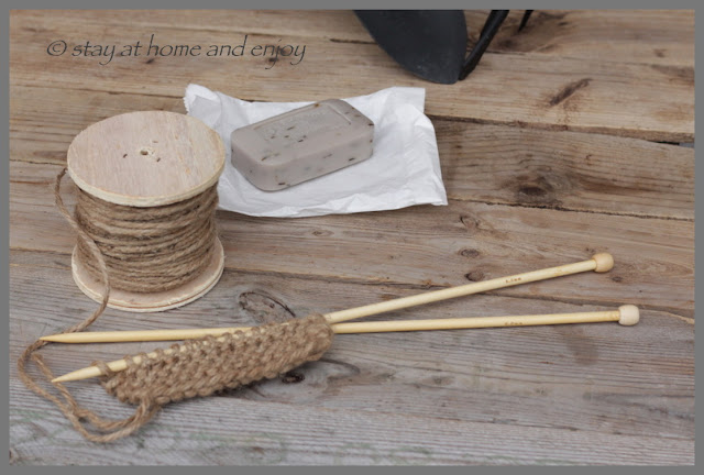 DIY Gärtnerseife - stay at home and enjoy
