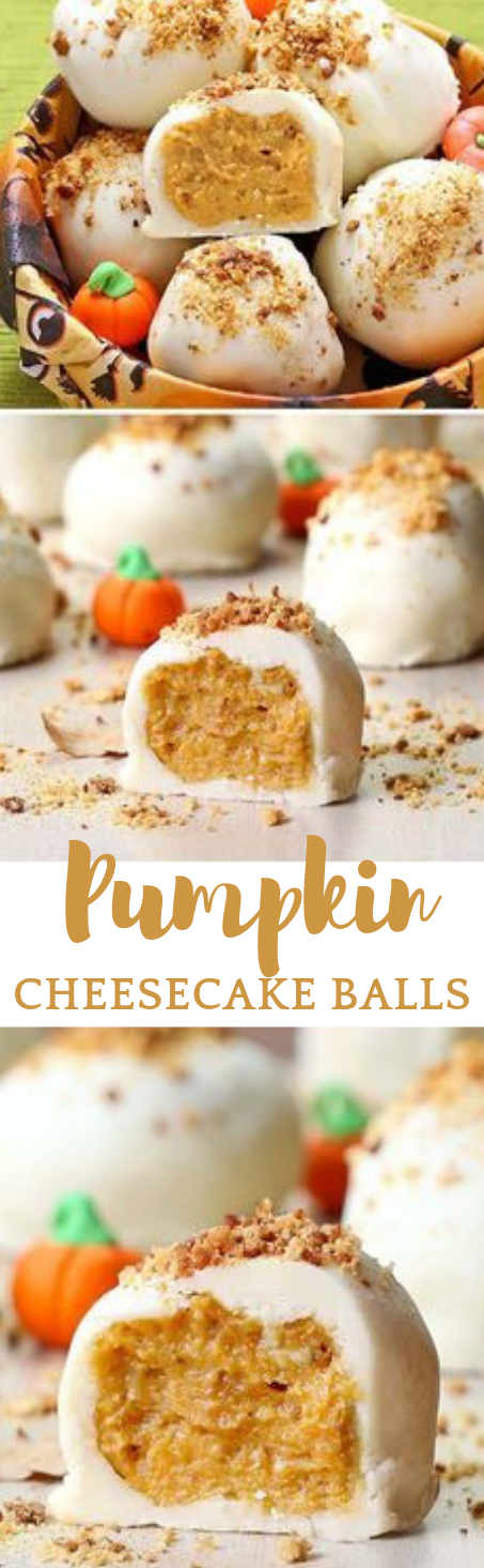 Pumpkin Cheesecake Balls #balls #desserts #dietketo #vegan #cakes