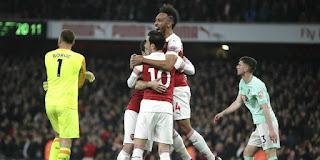 Premiere League: Arsenal Menang Besar Dikandang