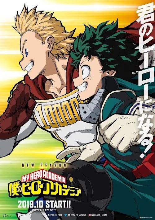 Descargar Boku no Hero Academia 4th Temporada [24 - 25][Sub Español][MEGA] HDL]