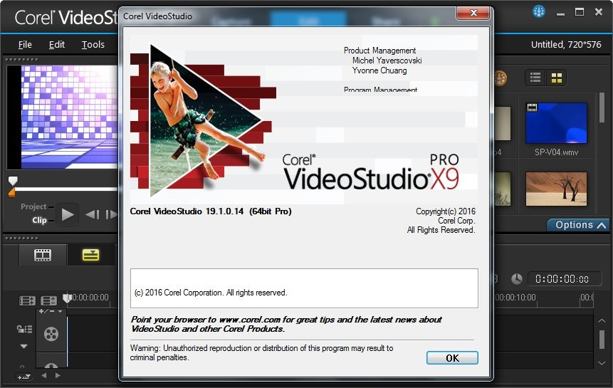 Corel VideoStudio Pro X9 19.1.0.14 With Keygen