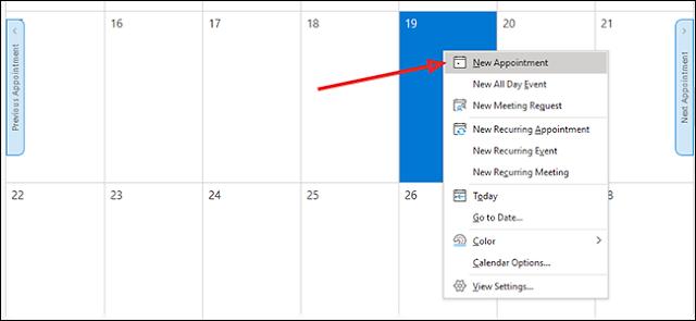 كيفية استخدام ملفات Calendar في Outlook