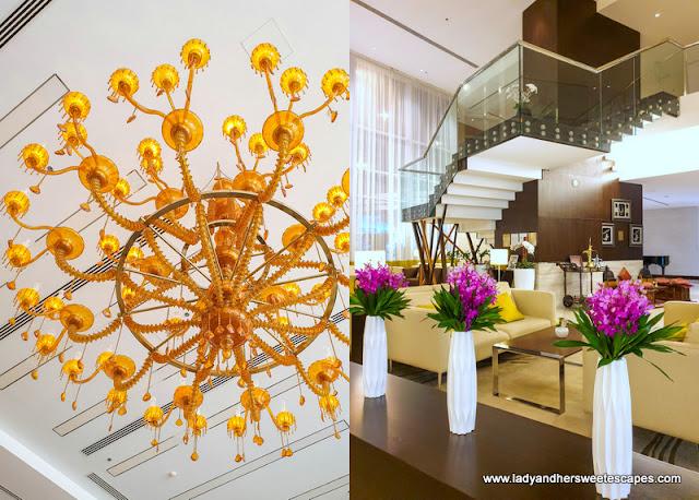 Novotel Al Barsha hotel lobby