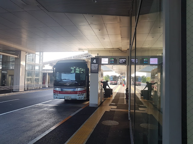 Limousine Bus At Haneda Airport
