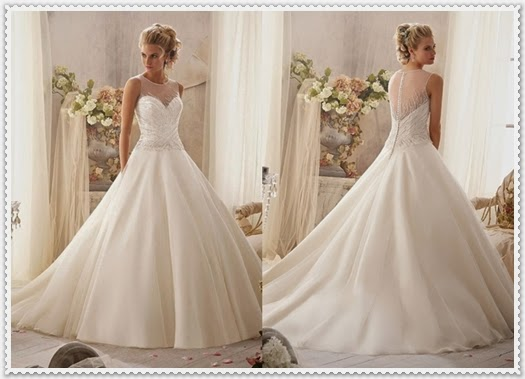 Mori lee by Madeline Gardner-Brautkleid Kollektion 2014