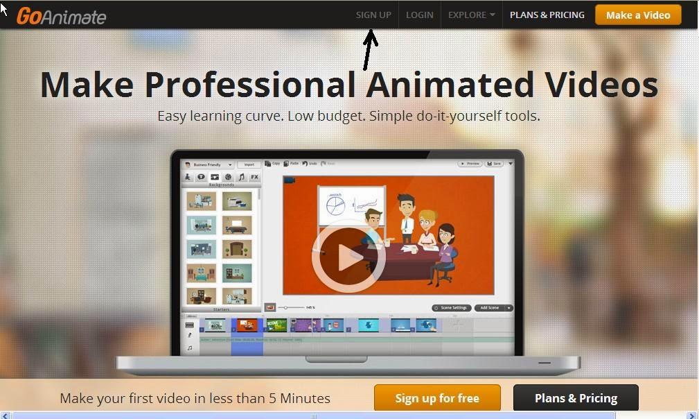 Cara Mudah Membuat Video Animasi (GoAnimate)