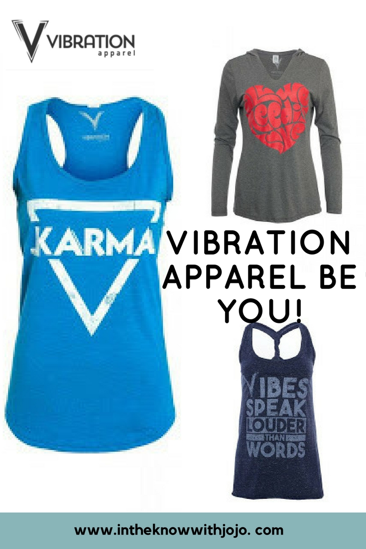 Your vibes attract your tribe, so keep positive with Vibration Apparel