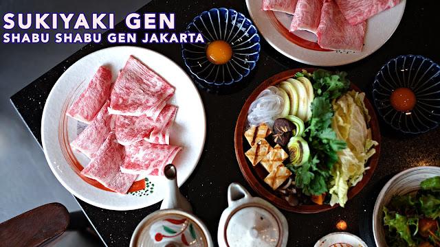 Sukiyaki Best Shabu Shabu in Jakarta Shabu Gen Resto