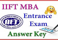 IIFT Answer Key